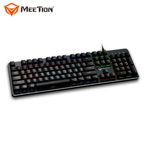 MEETION MK007— clavier gamer mécanique de jeu PC, Blue switch mechanical filaire USB, pour gameing